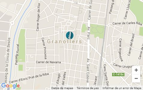 Contacto Osteopatía Granollers